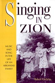 Cover of: Singing in Zion