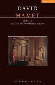 Cover of: Mamet Plays