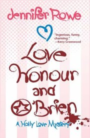 Cover of: Love Honour and OBrien