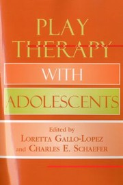 Cover of: Play Therapy with Adolescents