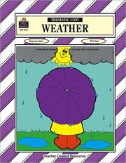 Cover of: Weather Thematic Unit