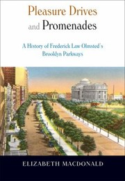 Cover of: Pleasure Drives and Promenades