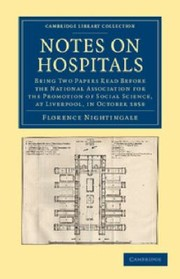 Cover of: Notes on Hospitals