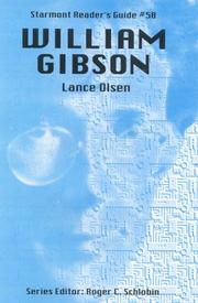 Cover of: William Gibson