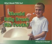 Cover of: Should Billy Brush His Teeth