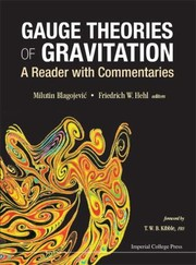 Cover of: Gauge Theories Of Gravitation A Reader With Commentaries