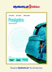 Cover of: Prealgebra the Mymathlab Edition