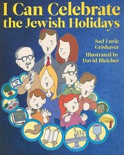 Cover of: I Can Celebrate the Jewish Holidays