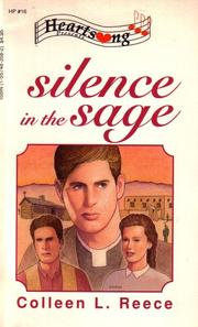 Cover of: Silence in the Sage (Heartsong Presents #16)