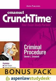 Cover of: Emanuel Crunchtime