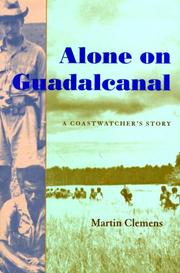 Cover of: Alone on Guadalcanal