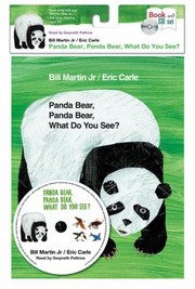 Cover of: Panda Bear Panda Bear What Do You See