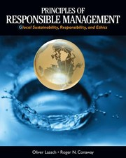 Cover of: Principles of Responsible Management