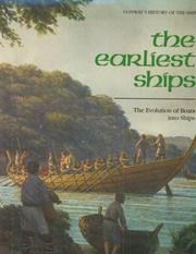 Cover of: The earliest ships |