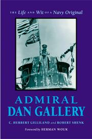Cover of: Admiral Dan Gallery