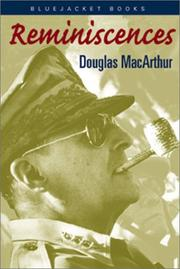 Cover of: Reminiscences | Douglas MacArthur