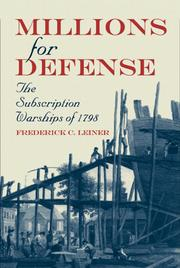 Cover of: Millions for defense