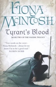 Cover of: Tyrants Blood Fiona McIntosh