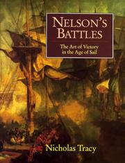 Nelson's battles by Nicholas Tracy