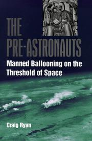 Cover of: The pre-astronauts | Craig Ryan