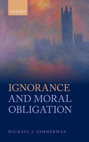 Cover of: Ignorance And Moral Obligation