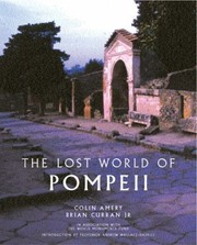 Cover of: The Lost World of Pompeii Colin Amery Brian Curran