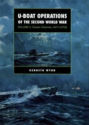Cover of: U-boat operations of the Second World War | Kenneth G. Wynn