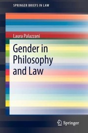 Cover of: Gender in Philosophy and Law