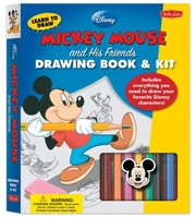 Cover of: Learn to Draw Disney Mickey Mouse and His Friends With Crayons and PensPencils and Stencils and Eraser and Sharpener and Marker and Paper