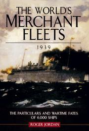 Cover of: The World's Merchant Fleets, 1939