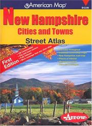 Cover of: New Hampshire: Street Atlas  |
