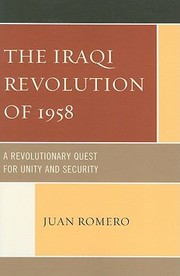 Cover of: The Iraqi Revolution of 1958