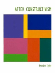 Cover of: After Constructivism