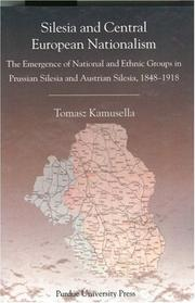 Cover of: Silesia and Central European Nationalisms