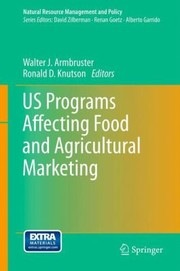 Cover of: Us Programs Affecting Food and Agricultural Marketing