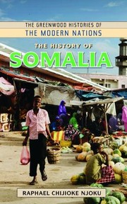 Cover of: The History of Somalia