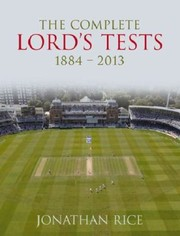 Cover of: The Complete Lords Tests