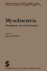 Cover of: Myxobacteria