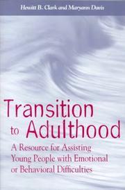 Cover of: Transition to Adulthood |