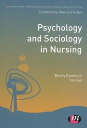 Cover of: Psychology and Sociology in Nursing