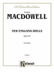 Cover of: New England Idylls Op 62