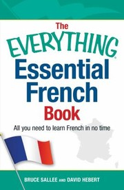 Cover of: The Everything Essential French Book |