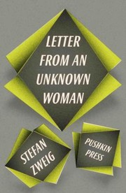 Cover of: Letter From an Unknown Woman and Other Stories