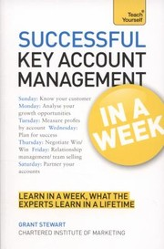 Cover of: Successful Key Account Management in a Week a Teach Yourself Guide