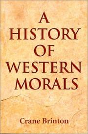 Cover of: A history of Western morals