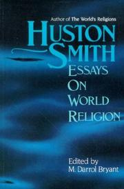 Cover of: Huston Smith