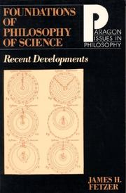 Cover of: Foundations of Philosophy of Science