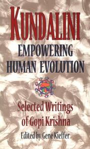 Cover of: Kundalini: empowering human evolution