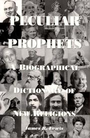 Cover of: Peculiar prophets