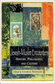 Cover of: Jewish-Muslim Encounters | Charles Selengut